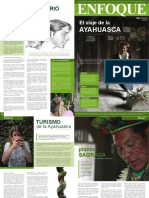Revista Enfoque - Ayahuasca