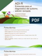 (ADI-R) Entrevista Para El Diagnostico Del Autismo
