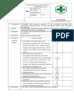 Sop Pencatatan Dan Pelaporan Program p2 Tb