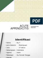 LAPSUS - Acute Appendicitis