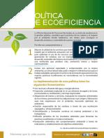 Politica de Ecoeficiencia 2014