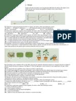 Ficha de Exercicios Obtenção de Matéria Biologia