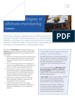 New technologies in offshore monitoring
