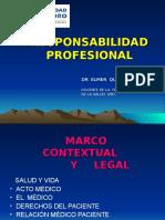 2-2016 Clase Medicina Legal. Responsabilidad Medica