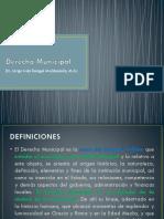 Derecho Municipal - Presentacion - PDF