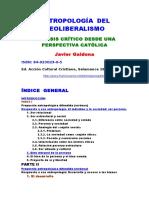 Galdona Javier - Antropologia Del Neoliberalismo