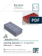 1. Solidworks Tutorial - Lego Car