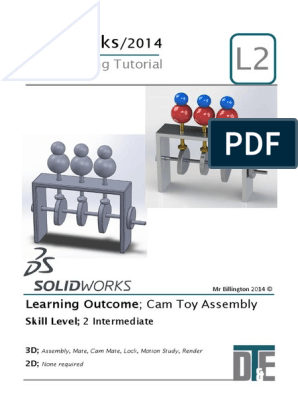 7  Solidworks Tutorial - Cam Toy | Mechanical Engineering