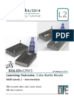 10. Solidworks Tutorial - Coke Mould