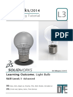 12. Solidworks Tutorial - Lightbulb Guide