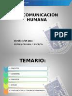 La Comunicación Humana 2016