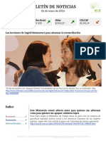 Boletín de noticias KLR 06MAY2016
