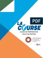 2016 Grand Defi Guide de Nutrition La Course