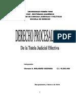 Tutela Judicial Efectiva en Venezuela