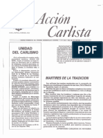 Acción Carlista 1er Trimestre 1985