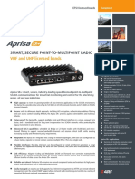 Aprisa SR+ Datasheet ETSI English