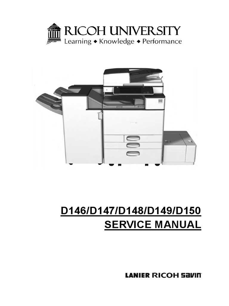 d146 d147 d148 d149 d150 service manual power supply image scanner rh scribd com ricoh sp112 manual ricoh sp211 manual