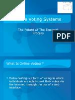 Secure Online Voting Presentation