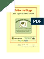 Taller de Blogs para ONGs