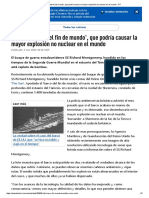 El 'Barco Del Fin de Mundo', Que Podría Causar La Mayor Explosión No Nuclear en El Mundo - RT