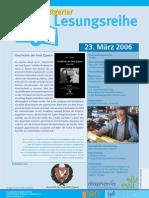 Giorgio Tzimurtas liest in der Stuttgarter Lesesreihe