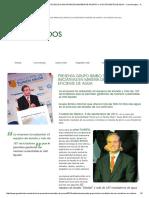 Presenta Grupo Bimbo Resultados de Sus Iniciativas en Materia de Ahorro y Uso Eficiente de Agua __ Comunicados __ Prensa __ Grupo Bimbo