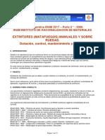 Requisitos Mantenimiento y Recarga IRAM 3517