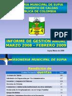 Informe de Labores 2008 2009 Power Point