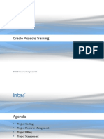 Oracle Projects Training Presentation