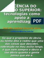 DOCÊNCIA DO ENSINO SUPERIOR.ppt