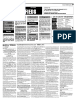 Claremont COURIER Classifieds 5-6-16