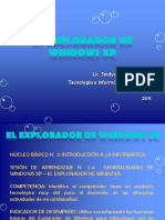 El Explorador de Windows Xp
