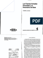 Cecilia Luvecce, Las Fuerzas Armadas Peronistas y El Peronismo de Base FAP