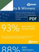 Hytrust 2016 Cloud SDDC Study