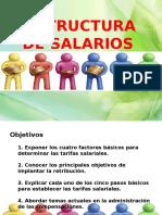 Estructura de Salarios