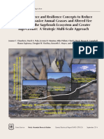 Using resistance and resilience concepts to reduce impacts of invasive annual grasses and altered fire regimes on the sagebrush ecosystem and greater sage-grouse