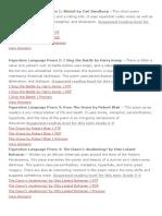 Figurative Language Poem 1