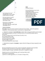 Figurative Language Poem 6