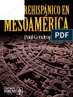 Arte Prehispanico en Mesoamerica Paul Gendrop