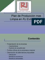 Ejemplo Proyecto Caucho de producción mas limpia
