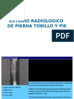 Estudio Radiologico de Pierna Tobillo y Pie