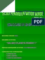 Salvati Planeta Pamant Scoala Jean Bart Constanta