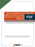Bases Cp Servicio de Supervision en Campo Del Proyecto Juliaca Puerto Maldonado