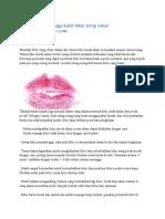Cara Alami menjaga kulit bibir tetap sehat.docx