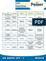 Temario 2014-II_Aptitud Matematica