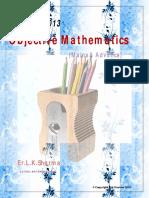 Iit Jee Mains Advance 2013 Objective Mathematics Sharma