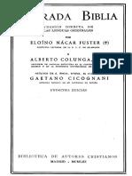 Nacar Colunga Sagrada Biblia 00 Introduccion y Indices