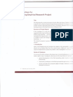Guidelines & Format for Writing Empirical Research Report