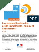 Comptabilisation Actifs Immateriels 2011