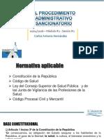 Procedimiento Administrativo Sancionatorio 2016p